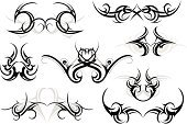 Tattoo,Indigenous Culture,Tribal Art,Gothic Style,Vector,Computer Graphic,Design,Design Element,Art,Celtic Style,Black Color,Symbol,Ancient,Swirl,Isolated,Shape,Henna Tattoo,Decoration,Indian Culture,Ornate,Old-fashioned,Decor,Sketch,Creativity,hand drawn,Body Adornment,Maori,Set,Abstract,Elegance,East Asian Culture,African Culture,Scroll Shape,Style,template,Curve,Ilustration