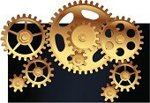 Gear,Working,Machinery,Ilustration,Computer Graphic,Machine Part,Steel,Vector,Technology,Symbol,Glowing,Equipment,Abstract,template,Wheel,Backgrounds,Business,Engine,Cooperation,Circle,Factory