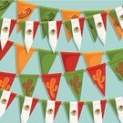 Mexico,Mexican Culture,Bunting,Party - Social Event,Knick Knack,Decoration,Backdrop,Ribbon,Vector,Clipping Path,Celebration,Cultures,Backgrounds,Cactus,Patriotism,Ilustration,Life Events,Green Color,Red,Yellow,Sombrero,White,Flag