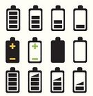 Charging,Battery,Equipment,Symbol,Low,Shape,Ilustration,Technology,Black Color,Plus Sign,Electrical Equipment,Full,Set,Collection,Battery Charger,Design,Empty,Minus Sign,Electricity,Fuel and Power Generation,Loading,Connection,Vector,Sign