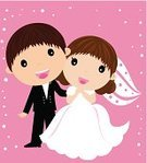 Wedding Reception,Ilustration,Wedding,Newlywed,Horizontal,Wife,Brown Hair,Male,Romance,Love,Smiling,Full Length,Two People,Honeymoon,Bride,Wedding Invitation,Bridegroom,People,Two Parents,Dress,Affectionate,Evening Gown,Illustrations And Vector Art,Women,Adults Only,Looking At Camera,Copy Space,Married,Vector,Couple,Invitation,Bridal Shower,Pastel Colored,Flirting,Cheerful,Young Couple,Bouquet,Color Image,Face To Face,Husband,Holidays And Celebrations,Glamour,Men
