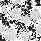 Pattern,Flower,Illustration,Floral Pattern,No People,Vector,Seamless Pattern