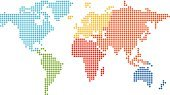 Globe - Man Made Object,World Map,Earth,Spotted,Map,Cartography,Vector,USA,Europe,Computer Graphic,Africa,Abstract,Ilustration,Australia,The Americas,Color Image,Asia