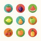 Symbol,Fruit,Vegetable,Orange - Fruit,Strawberry,Orange Color,Apple - Fruit,Vegetarian Food,Mandarin Orange,Lemon,Ripe,Organic,Nature,Vector,Watermelon,Backgrounds,Pear,Season,Juicy,Cherry,Ideas,Design,Healthy Eating,Multi Colored,Healthy Lifestyle,Red,Sweet Food,Springtime,Snack,Concepts,Pineapple,Leaf,Dessert,Green Color,Eat,Freshness,Food,Juice,Collection,Tropical Climate,Plum,Summer