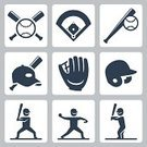 People,Activity,Symbol,Sign,Hat,Sport,Human Body Part,Cap,Ball,Human Hand,Team Sport,Competitive Sport,Baseball - Sport,Softball - Sport,Playing Field,Silhouette,Computer Icon,Baseball Cap,Playing,Cut Out,Baseball Glove,Sports Bat,Illustration,Batting,Baseball Pitcher,Sports Glove,Home Run,Athlete,Baseball - Ball,Vector,Collection,Softball - Ball,Softball,Icon Set
