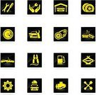 Car,Auto Mechanic,Car Jack,Repairing,Auto Repair Shop,Disk Brake,web icon,Design,vector icons,Service,Design Element,Screwdriver,Gasoline,Key,Speedometer,Automatic Car Wash Machine,Gear,Ilustration,Silhouette,Wheel,Clip Art,Vector,Oil Pump,Workshop,Symbol,Car Wash,Transportation,Icon Set,Steering Wheel,Computer Icon,Work Tool