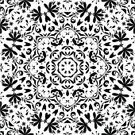 Black And White,Pattern,Computer Graphic,Vector,Backgrounds,Silhouette,Wallpaper Pattern,Ornate,Decoration,symbolical,Style,Seamless,Flourish,White,Continuity,Symmetry,Design Element,seamlessly,Repetition,Abstract,Black Color,Floral Pattern