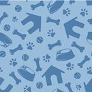 Dog,Pattern,Textured,Dog Bone,Symbol,Seamless,Blue,Ilustration,Vector,Paw,Backgrounds,Repetition,Bowl,Pets,Puppy,Outline,Print,Kennel,Footprint,Silhouette,Wallpaper Pattern,Design Element,Contour Drawing,Abstract,Continuity,Ball,Decoration,Ornate,Design,Domestic Animals,Animal Food Bowl,Group of Objects