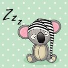 Sleeping,Hat,Bedtime,Child,Mother,Childhood,Art,Image,Luck,Blanket,Koala,Baby,Valentine's Day - Holiday,Childbirth,Celebration,Animal,Day,Happiness,Vacations,Postcard,Greeting,Animated Cartoon,Animal Themes,Shape,Ilustration,Animals In The Wild,Mammal,Small,Smiling,Toy,Cheerful,Drawing - Art Product,Cute,Decoration,Fun,Young Animal,Pajamas,Design,Birthday,Pink Color,Beautiful,Paintings,Dreamlike,Vector,Morning,Hood,Cap,Pets