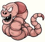 Insect,Large,Computer Graphic,Fun,Ilustration,Symbol,Wildlife,Vector,Earthworm,Mascot,creep,Alien,Worm,Animal,Caricature,Crawling,Cheerful,Cute