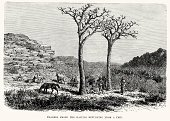 Print,Old-fashioned,Nostalgia,Indigenous Culture,Retro Revival,Southern African Tribal Culture,Old,Xhosa,Cultures,Styles,Ilustration,History,Image Created 19th Century,19th Century Style,The Past,Woodcut,Victorian Style,Africa,Engraved Image,Black And White,Antique,African Tribal Culture,Obsolete