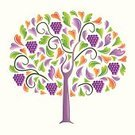 Grape,Tree,Vine,Ornate,Vector,Fruit,Formal Garden,Magic,Bush,Park - Man Made Space,Design Element,Growth,Art Deco,Backgrounds,Creativity,Purple,Abstract,Landscape,Leaf,Design,Ilustration,Ornamental Garden,Crop,Floral Pattern,Non-Urban Scene,Beautiful,Cultivated,Plant,Decoration,Beauty In Nature,Isolated On White,Imagination,Nature,Elegance,Environment,Illustrations And Vector Art,Food And Drink,Vector Florals,Fruits And Vegetables,Gardens,Nature