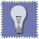 Light Bulb,Inspiration,Ideas,Lighting Equipment,Dark,Power,Objects/Equipment,Luminosity,Illustrations And Vector Art,Electric Lamp,Single Object,Electricity,Vector,No People,Ilustration,Invention