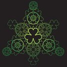 Mandala,Clover,Letter S,Good Luck Charm,Lace - Textile,patrick,Day,Pattern,St,Geometric Shape,Irish Culture,March,Luck,Backgrounds,Green Color,Saint,Holidays,Holiday Symbols,Vector Ornaments,Holidays And Celebrations,Notre,Vector,Holiday,Illustrations And Vector Art,Travel Locations