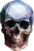 Two-dimensional Shape,Human Skull,Low Poly,Three-dimensional Shape,Three Dimensional,Ilustration,Geometric Shape,Human Eye,polygonal,Diamond Shaped,Human Mouth,Ghost,Color Image,Abstract,Human Head,Death,Dead Person,Anatomy,Triangle,Shape,Hexagon,Human Skeleton,Symbol,Human Teeth,Modern,Sign,Gothic Style,Digitally Generated Image,Image,Evil,People,Painted Image,Vector,Sullen,Fear,Design,Isolated,Horror,Backgrounds,Danger,Human Bone,Halloween,Dark,Ornate