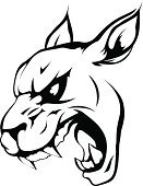 Wildcat,Lynx,lepard,Characters,Furious,Cartoon,Isolated,Cougar,Vector,Undomesticated Cat,Feline,Carnivore,Black Color,Clip Art,Strength,Anthropomorphic Face,White,Sports Team,Team,Roaring,Sport,Mascot,Black And White,Mountain,Power,Cheap,Mountain Lion,Displeased,Animated Cartoon,Anger,Cruel,Animal Head,Ilustration,Milwaukee Panthers,Lion - Feline,Animals In The Wild,Animal,Tattoo,Sign,Snarling,Team Event,Symbol,Leopard,Pride,Tiger,Wildlife,Monochrome,Animal Teeth,Monster,Jaguar