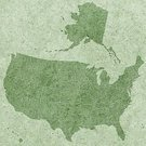 Cartography,Map,USA,Vector,Grunge,state,Textured,US State Border,The Americas,World Map,Backgrounds,continent,Unity,Silhouette,Stone,Marbled Effect,Hawaii Islands,Alaska,granular,Ilustration,Outline,Stone Material,Green Color,Computer Graphic,Pattern,Design,Design Element,Country - Geographic Area
