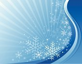 Christmas,Winter,Snowflake,Backgrounds,Snow,Blue,Computer Graphic,Vector,Abstract,Digitally Generated Image,Decoration,Color Gradient,Star Shape,Striped,Design Element,Vanishing Point,Full Frame,White,Wave Pattern,Ilustration,Christmas,Illustrations And Vector Art,Holidays And Celebrations