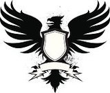 Griffin,Coat Of Arms,Shield,Bird,Wing,Sign,Spread Wings,Silhouette,Claw,Splattered,Spray,Black And White,Feather,Scroll,Placard,Talon,Medallion,Black Color,Clip Art,Part Of,Ornate,Beak,Announcement Message,Ilustration,graphic elements,Award Plaque,Label,Inkblot,Message,Vector Icons,Ribbon,Communication,Concepts And Ideas,Isolated Objects,Illustrations And Vector Art,Isolated On White,Isolated On Black,Isolated