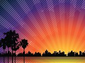 Hollywood - California,Sunset,Tree,Backgrounds,City,Palm Tree,Party - Social Event,Urban Skyline,Vector,Purple,Silhouette,Sun,Night,City Life,Urban Scene,Focus On Background,Landscape,Twilight,Cityscape,Orange Color,Golden,Fame,Backdrop,Fun,Morning,Gold Colored,Luxury,Built Structure,Glowing,Outline,Blue,Red,Gold,Cloud - Sky,Sunlight,Cloudscape,Dusk,Turquoise,Wealth,Nightlife,Shape,Meeting,Building Exterior,Horizontal,Illustrations And Vector Art
