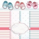 Baby,Child,Family,Greeting,Birthday,Gift,Little Boys,Baby Booties,Detective,Record,Blue,Backdrop,Postcard,Happiness,Small,Mother,Backgrounds,Shoe,Drawing - Art Product,Celebration,Decoration,Announcement Message,Newborn,Party - Social Event,Greeting Card,Invitation,Design,Cute,Ilustration,Art,Pattern,Arrival,Son,New Life,Congratulating,Vector,Love,Scrapbook,Bow