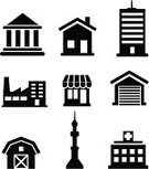 Computer Icon,Symbol,Government,Urban Scene,City,Factory,Vector,City Life,Bank,Industry,Silhouette,House,Real Estate,Black Color,Building Exterior,Business,Store,Facade,Residential District,Design,Tower,Modern,Ilustration,Apartment,Design Element,Downtown District,Roof,Window,Skyscraper,Hotel,Residential Structure,Single Object,Construction Industry,Warehouse,Computer Graphic,Architecture,Cityscape,Sign,Outline,Office Building,Isolated,Set,Town,Part Of,Shape