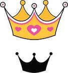 Crown,Cartoon,Pink Color,Sparse,Cute,Silhouette,Heart Shape,Simplicity,Back Lit,Jewelry,Single Object,Symbol,Nobility,Gemstone,Computer Icon,Outline,Clip Art,Gold,Gold Colored,Shadow,Funky,Luxury,Yellow,Majestic,Focus on Shadow,Concepts And Ideas,Illustrations And Vector Art