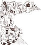 Arch,Urban Scene,Pencil Drawing,Drawing - Art Product,Architecture,Built Structure,City,Doodle,European Culture,Palace,House,Sketch,Steps,Mature Adult,Pen,Pencil,Line Art,hand drawing,Building Exterior,Landscape,Window,Ancient,Vector,Europe,Staircase,Castle,The Past,Door,Medieval,Roof,Street,Backgrounds,hand drawn,Clip Art,Ilustration,Tower,Town