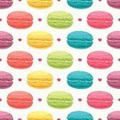 Macaroon,Effortless,Pattern,Seamless,Cute,Gourmet,Sweet Food,Beige,Multi Colored,Food,Cake,Cream,France,Yellow,Pink Color,Backdrop,Heart Shape,Dessert,Beauty,French Culture,Beautiful,Purple,Red,Love,Wallpaper Pattern,Blue,Snack,Cookie,Ilustration,Variation,Decoration,Color Image,Biscuit,Vector,Backgrounds,Cultures