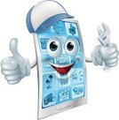 Technology,Mascot,Characters,suport,Assistance,Work Tool,One Person,apps,People,Men,Human Face,Thumbs Up,Service,Mechanic,Moving Up,Plumber,Thumb,Vector,Ilustration,Music,Human Hand,Hat,Glove,Repairing,Clip Art,Engineer,Application Software,Drawing - Art Product,Anthropomorphic Face,Wrench,Adjustable Wrench,Spanner,Visual Screen,Non-Urban Scene,Mobile Phone,Holding,Cartoon,Telephone,Technician,Support,Cap,Animated Cartoon