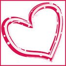 Red,Square,Frame,Valentine's Day - Holiday,Ilustration,Love,White,Pink Color,In A Row,Heart Shape,Style