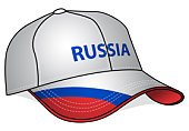 Cap,Russia,Baseball Cap,Flag,Russian Flag,Sport,People,Sports And Fitness,Europe,Headwear,Hat
