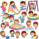Sport,Student,People,Recreational Pursuit,Characters,Clip Art,Computer Graphic,Seesaw,Isolated,Swimming,Ilustration,Smiling,Outdoors,Childhood,Swing,Humor,Ladder,Set,Elementary Age,Cute,Slide - Play Equipment,Leisure Activity,Playground,Schoolyard,Fun,Eps10,Kid Goat,Bicycle,Design,Child,Playful,Young Adult,Multi Colored,Leisure Games,Cartoon,Enjoyment,Healthy Lifestyle,Preschool,Moving Up,Sandbox