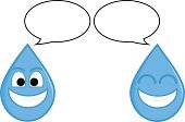 Save Water,Water Drop,water drop,Water,Smiley Face,Smiling,Mascot,Cartoon,Characters,Cheerful,Vector