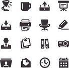 Computer Icon,Symbol,Rotary Card File,Icon Set,Adhesive Note,Document,Black Color,Calendar,Mail,Printout,Ring Binder,Reminder,Clock,Vector,Computer Printer,Calendar Date,Business,Coffee Cup,Communication,Presentation,Angle-Poise Lamp,Billboard Posting,Office Interior,Paper,Notebook,Note Pad,People,Electric Lamp,Illustrations And Vector Art,Men,Envelope,Ilustration,E-Mail,Projection Equipment,One Person,Cup,Pencil,Letter,Print,White Collar Worker