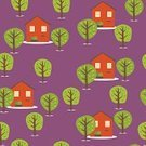 Winter,Forest,Backgrounds,Pattern,Finland,Small,Ilustration,Season,Autumn,Street,Vector,Deer,Cute,Computer Graphic,Tree