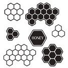 Honeycomb,Hexagon,Pattern,Beehive,Vector,Bee,Art,Honey,Food,Ilustration,Healthcare And Medicine,Part Of,Wax,honeycell,Syrup,Tally Chart,honeyed,Full,Beekeeper,Cute,White,Cell,Sweet Food,Frame,Shiny,Single Object,Geometric Shape,Computer Graphic,Abstract,Beeswax,Silhouette,Label,Black Color,Nature,Shape,Symbol