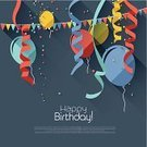 Confetti,Balloon,Celebration,Streamer,Carnival,Backgrounds,Traveling Carnival,Birthday,Dark,Multi Colored,Sparse,Simplicity,Holiday,Vector,Anniversary,Ilustration,Greeting,Traditional Festival,Modern,Decoration,Invitation,Swirl,Ribbon,Decorating,No People