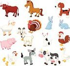 Horse,Cartoon,Sheep,Cow,Dog,Animal,Collection,Farm,Goat,Mouse,Rabbit - Animal,Chicken,Cockerel,Chicken - Bird,Rooster,Goat Meat,Rabbit Meat,Goose,Domestic Cat,Turkey,Domestic Animals,Duck,Animal Themes,Humor,Pig,Pets,Vector,Baby Rabbit,Poultry,Turkey - Bird,Bull - Animal,White Meat,Set,Donkey,Bird,Hen,Duck Meat,Ilustration,Mammal,Symbol,Goose Meat