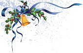 Holly,Christmas,Bell,Angle,Decoration,Ribbon,Blue,Clip Art,Gold,Berry,Gold Colored,corner element,Vector,Holiday,Green Color,Color Image,Celebration,Grunge,Shiny,No People,Christmas Decoration,Vector Ornaments,Ilustration,Illustrations And Vector Art,Part Of,Holidays And Celebrations,Christmas