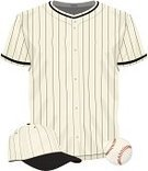 Baseball Uniform,Sports Uniform,Equipment,Baseballs,Retro Revival,Baseball - Sport,Obsolete,Team Sport,Uniform,Clothing,Hat,Competitive Sport,Striped,Classic,Old-fashioned,Number,Pinstripe,Cap,Baseball Cap,1940-1980 Retro-Styled Imagery,Sport,Closet,Leisure Games,Athlete