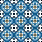 Tunisian Culture,Pattern,Repetition,Decoration,Wallpaper Pattern,Ornate,Mosaic,Yellow,Ilustration,Square,Spanish Culture,Design Element,Tile,Cultures,Orange Color,Moroccan Culture,Portuguese Culture,Abstract,White,Blue,Arabic Style,Seamless