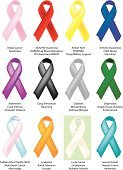 Ribbon,Cancer,Ribbon,Alertness,Breast Cancer Awareness Ribbon,Diabetes,Alzheimer's Disease,Yellow,Charity and Relief Work,Social Awareness Symbol,AIDS,Breast Cancer,Fibrosis,awareness ribbon,Support,Vector,Child Abuse,Pink Color,Arthritis,HIV,Healthcare And Medicine,Drunk Driving,Recovery,Green Color,Amber Alert,Mental Illness,sids,Red,Depression - Sadness,Missing In Action,Concepts And Ideas,Business,Illustrations And Vector Art,sudden infant death,Business Concepts,Racial Tolerance,Ovarian Cancer