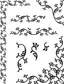 Corner,Decoration,Book,Ornate,Pattern,Floral Pattern,Frame,Macro,Flower,Vector,Art,Computer Graphic,Design,Black Color,Christmas Decoration,Abstract,Art Product,Luxury,Cultures,Part Of,Symmetry,Backgrounds,Decor,Ilustration,Elegance,Arts Abstract,Arts Backgrounds,Illustrations And Vector Art,Arts And Entertainment,stylization