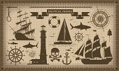 Nautical Vessel,Old-fashioned,Retro Revival,Pirate,Anchor,Human Skull,Sailing Ship,Frame,Map,Sail,Sailboat,Sailing,Ship,Shark,Steering Wheel,Compass Rose,Backgrounds,Sea,Isolated,Icon Set,Silhouette,Symbol,Bell,Compass,Decoration,Brown,Design Element,Helm,Set,Chain,Paper,Sign,Ancient,Beacon,Drawing Compass,Art,Navigational Equipment,Banner,Tower,Vector,Group of Objects,Fish,Lighthouse,Ilustration,Ribbon,Old,Design
