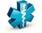 Healthcare And Medicine,Ilustration,Healthy Lifestyle,Surgery,Three-dimensional Shape,Clinic,Design,Sign,Care,Cross Shape,Insignia,Caduceus,Medicine,Web Page,Emergency Services,Design Element,Urgency,Science,Paramedic,Assistance,Illness,Wellbeing,White,Connection,Blue,Snake,Pharmacy,Recovery,Hospital,Symbol,Isolated,Computer Graphic