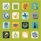 school bell,Pencil,Teaching,Student,Microscope,Symbol,Abstract,Backgrounds,Vector,Creativity,Certificate,Sign,University,Education,Computer Graphic,Geometric Shape,Learning,Graduation,Science,Book,Ilustration,Collection