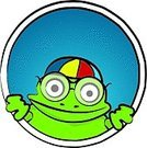 Frog,Nerd,Education,Classroom,Intelligence,foureyes,Illustrations And Vector Art