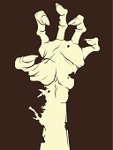Human Hand,Zombie,Dark,Monster,Mystery,Evil,Backgrounds,Halloween,Sharp,Vector,Rotting,Ilustration,Devil,October,Horror,Full Moon,Undead,Design,Autumn,Shock,Holiday,Resurrection,Death,Dead Person,Fingernail,Silhouette,Spooky,Night,Fear,Back Lit,Land