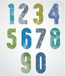 Print,Spotted,Pixelated,Pattern,Set,Macro,Characters,Newspaper,Design,Alphabet,Blob,Style,Symbol,Old-fashioned,Counting,Number 9,Number 7,Textured,Creativity,Typescript,Fashionable,Halftone Pattern,Funky,Number 8,Number 1,Sign,Photographic Effects,Number 2,Number 3,Number 6,Number 5,Number 4,Ink,Color Image,Mathematical Symbol,Zero,Vector,Decoration,Grained,Grunge,1940-1980 Retro-Styled Imagery,Elegance,Number